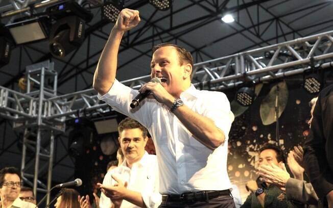 Governador João Doria participou de evento em Taubaté e foi vaiado por manifestantes