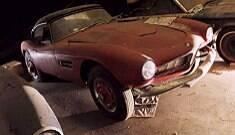 BMW rara que pertenceu a Elvis é encontrada e restaurada
