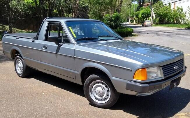 Ford Pampa GL: Exemplar muito bem cuidado registra apenas 68 mil km no hodômetro