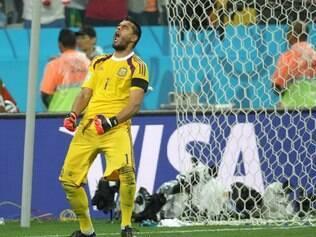 Esportes - Jogo entre Argentina e Holanda , em Sao Paulo SP, valida pela semifinal da Copa do Mundo  2014. Foto: Alex de Jesus/O Tempo 08/07/2014