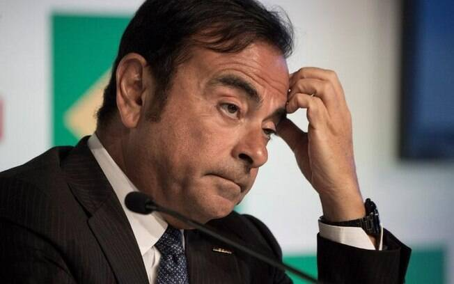 Carlos Ghosn renunciou ao conselho da Nissan em janeiro