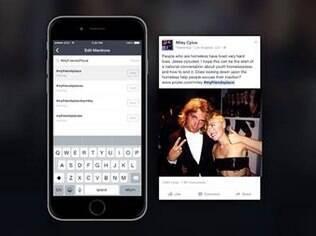 Atualização do Mentions, app do Facebook, permite compartilhamento em outras redes sociais e a adição de tópicos de interesse. Gratuito, o app só roda em iOS por enquanto
