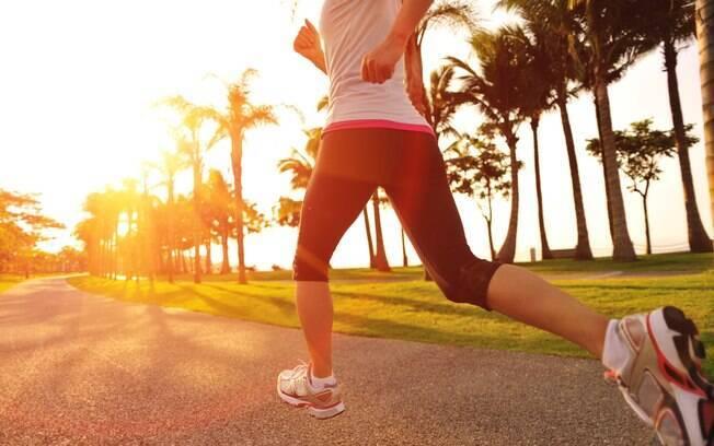 Corrida acelera o metabolismo, o que é fundamental para a queima de gordura. Foto: iStock