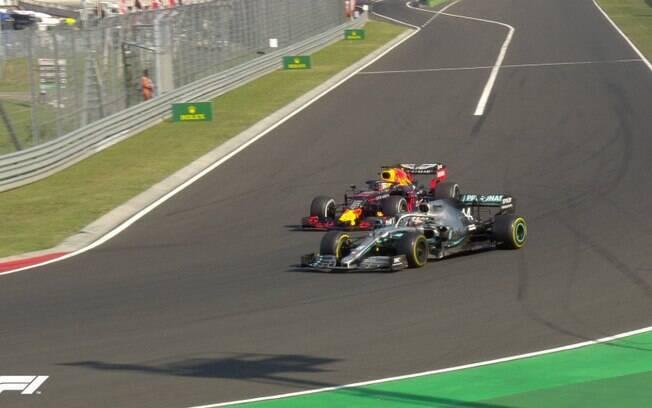 Lewis Hamilton vence o GP da Hungria de Fórmula 1