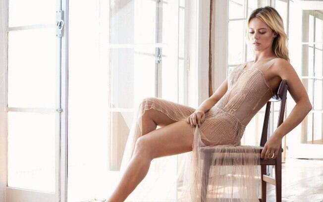 A atriz teve suas fotos íntimas vazadas na internet na última semana