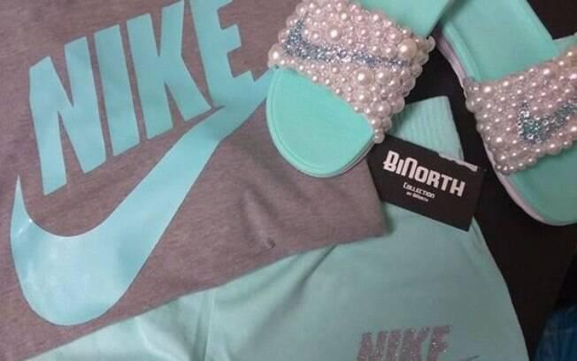 Foto de roupa esportiva da Nike criou, mais uma vez, polêmica sobre cores na interent