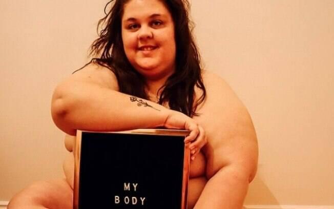 A modelo Abyie Polden sentiu sua vida mudar quando perdeu a vergonha do próprio peso