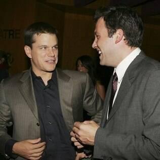 Os amigos Matt Damon e Ben Affleck