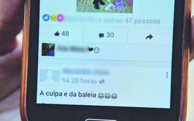 Mensagens. Internet é o principal vetor do desafio da Baleia Azul, inclusive na propagação de boatos
