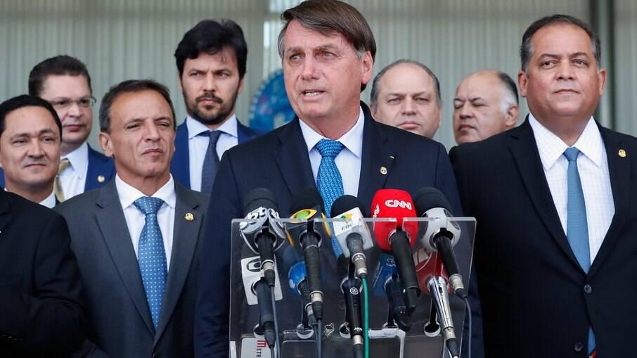 Jair Bolsonaro falando em anúncio do Renda Cidadã, programa que substituirá o Bolsa Família