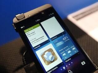 BlackBerry Z10 tem recurso que permite separar acesso pessoal do corporativo