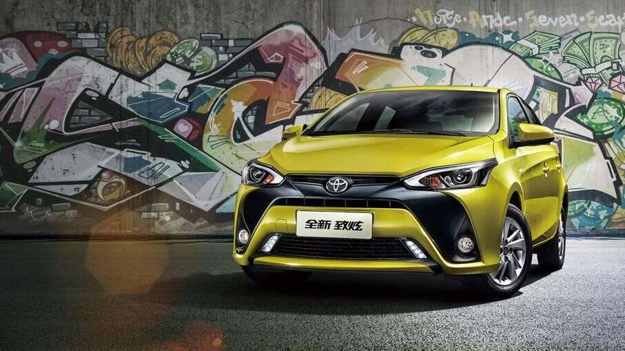 GAC Toyota Yaris: feito para o mercado chinês tem estilo arrojado, embora com  aspecto simples