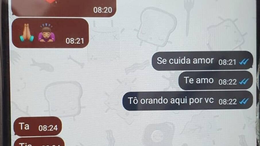 Mensagens trocadas por vítima do Jacarezinho antes de morrer em operação policial