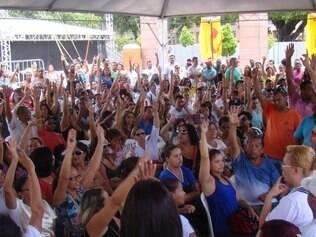 Trabalhadores votaram contra a proposta da prefeitura