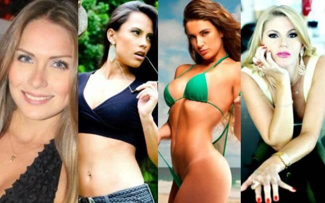 Renata Dávila, Kelly Medeiros, Laisa Portela e Val Marchiori