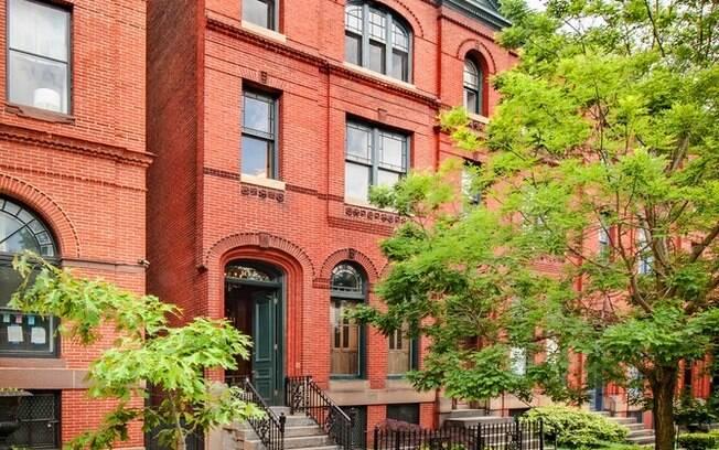 A casa mostrada como sendo de Frank e Claire em 'House of Cards' fica em Baltimore, nos Estados Unidos