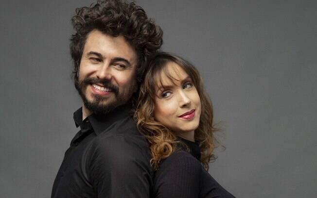 Kiara Sasso e Lázaro Menezes