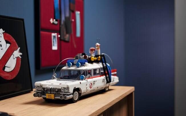 Cadillac Ecto-1 de Lego passa a ser o brinquedo mais detalhado disponível hoje em dia pela fabricante