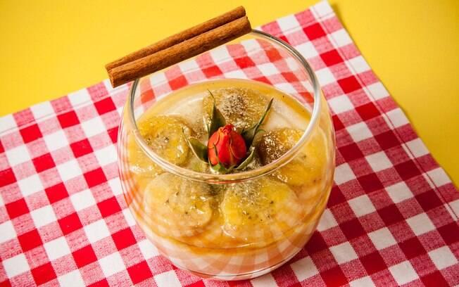 Foto da receita Mousse de banana pronta.