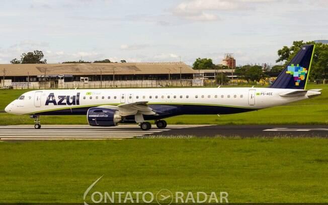 Embraer 195-E2 voará regularmente para o interior paulista