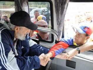Fidel Castro reaparece depois de 14 meses