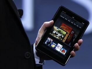 Kindle Fire, o primeiro tablet da Amazon