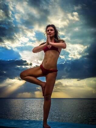 Karina Oliani: corpão e força para encarar aventuras
