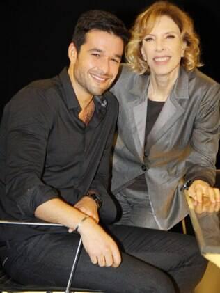 Sergio Marone e Marilia Gabriela