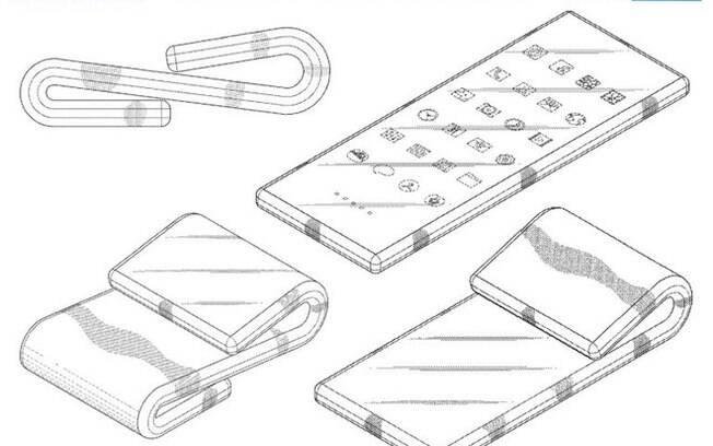 Patente registrada pela Samsung