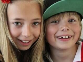 Lotte, com 12 anos, e Vince, de nove, continuarão sendo registrados pelo pai Frans Hofmeester