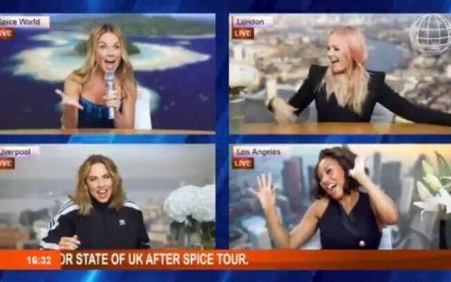 Spice Girls utilizam vídeo publicado no Twitter que estão voltando com tudo, inclusive com uma turnê