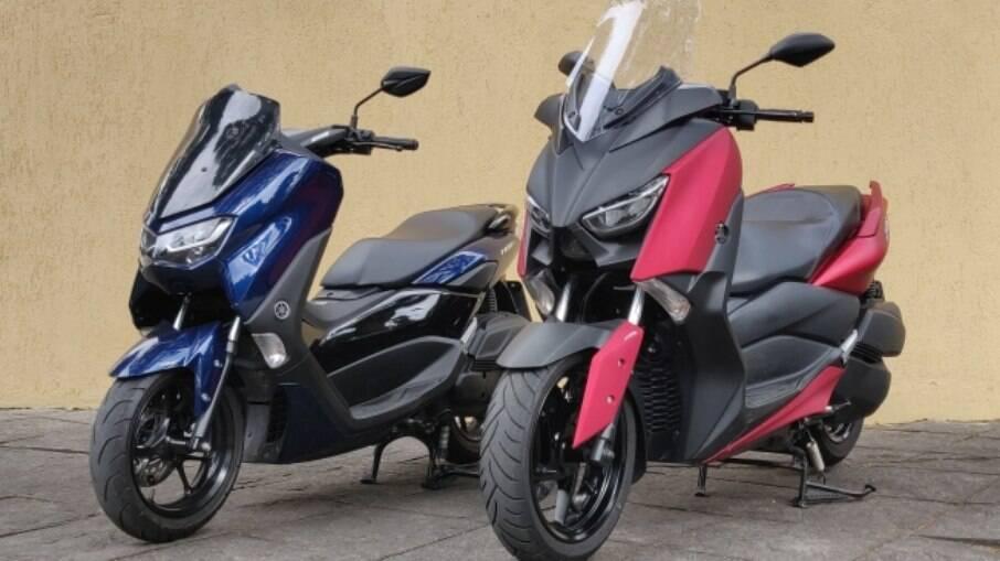 Yamaha NManx e X Max: Lado a lado, as diferenças são notáveis, mas, separadamente, eles se confundem