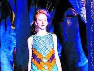 O look escolhido por Fraga para ser apresentado em Londres