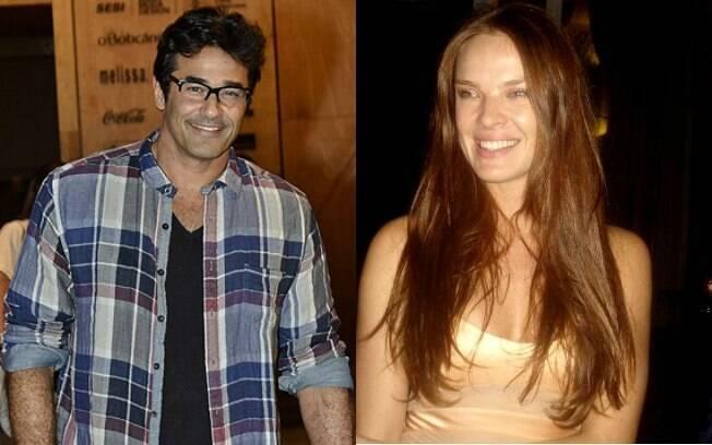 Luciano Szafir e Letícia Birkheuer namoraram por três meses em 2000