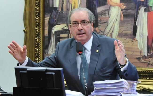 Eduardo Cunha voltou a ir pessoalmente fazer sua defesa na reunião da CCJ nesta quinta-feira