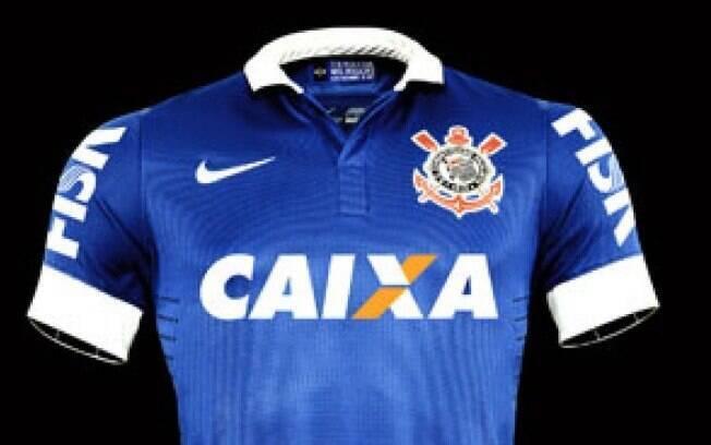 Corinthians lança camisa em alusão a jogo em que representou seleção. Foto   Divulgação 7d29027f85bcf