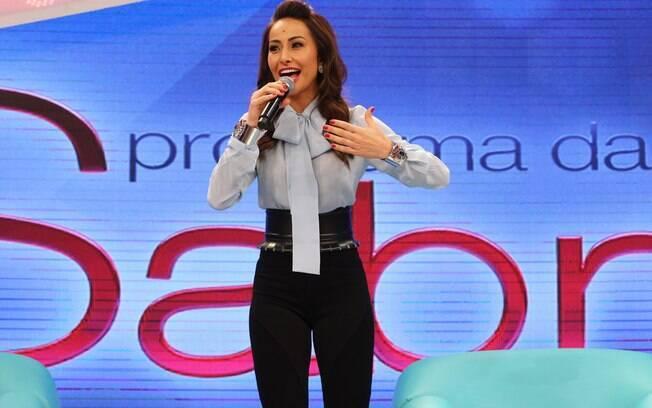 Na Record, Sabrina Sato chega a faturar mais de R$ 1 milhão no palco do 'Programa da Sabrina'