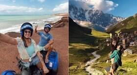 Brasileiros viajam o mundo como nômades: