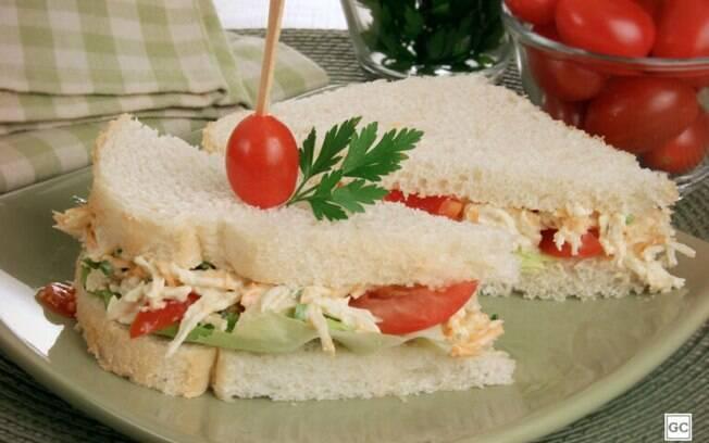 Lanche natural: 3 opções de sanduíches saborosos e práticos
