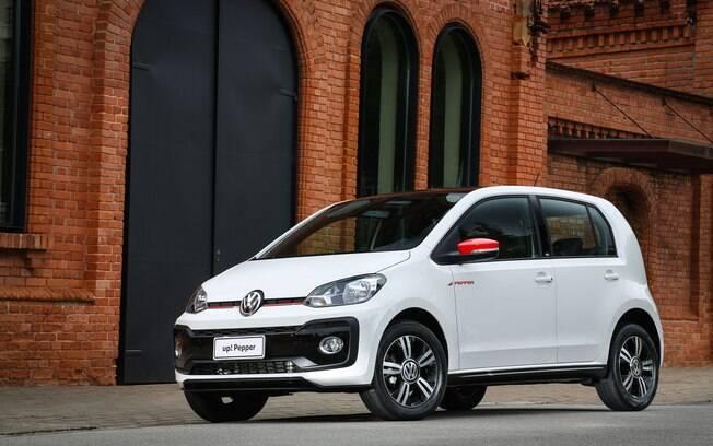 Volkswagen Up! foi um dos modelos que não tiveram sucesso logo nos primeiros meses de vendas nas lojas  do Brasil