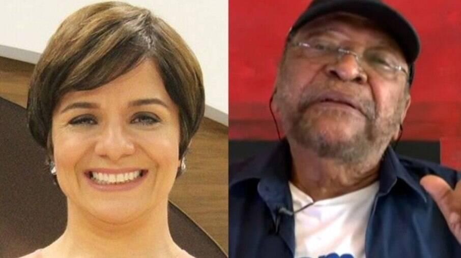 Vera Magalhães e Martinho da Vila