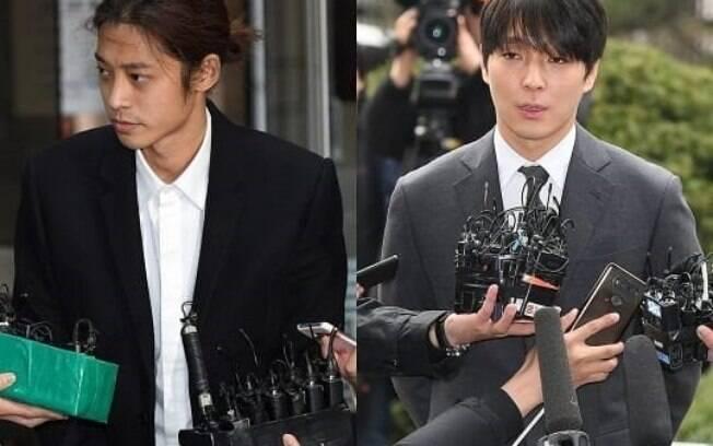 Jung Joon Young e Choi Jong Hoon