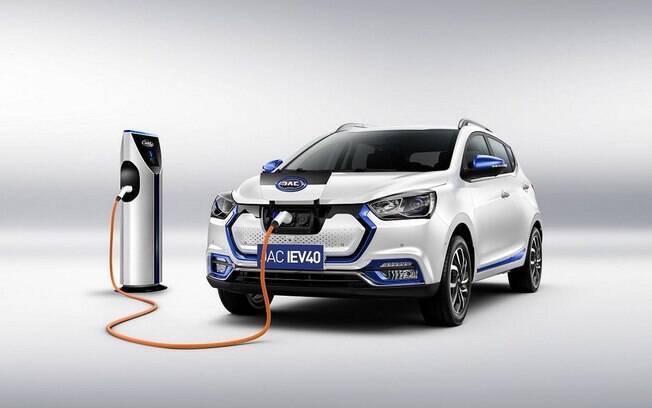O JAC elétrico será o modelo do gênero mais em conta à venda no Brasil, baseado no SUV compacto T40