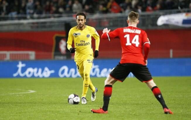 Neymar ajudou o PSG a se classificar para a quinta final consecutiva da Copa da Liga Francesa