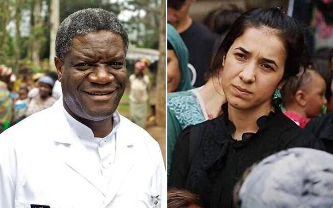 Prêmio Nobel da Paz 2018 foi entregue ao médico ginecologista, Denis Mukwege e à ativista yazidi Nadia Murad