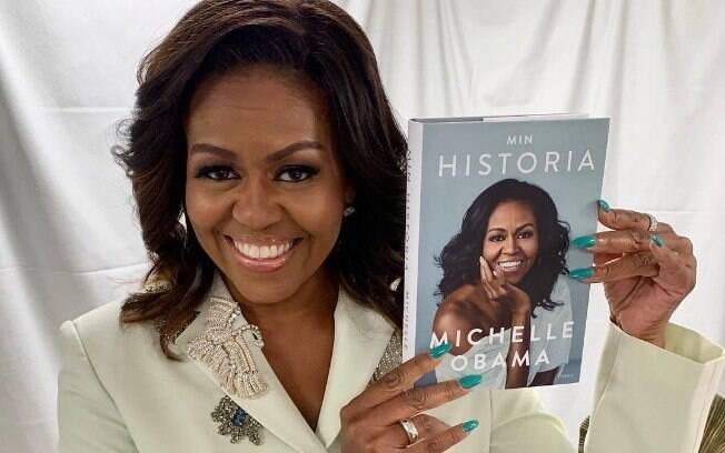 Michelle Obama e seu livro