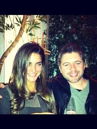 Laisa Portela com Alexandre Ferraz: paciente e médico