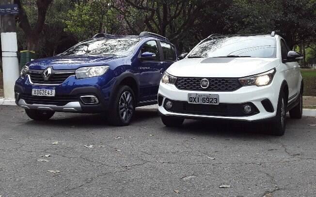 Fiat Argo Trekking e Renault Sandero Stepway são dois hatches aventureiros automáticos que chegaram há pouco às lojas no Brasil
