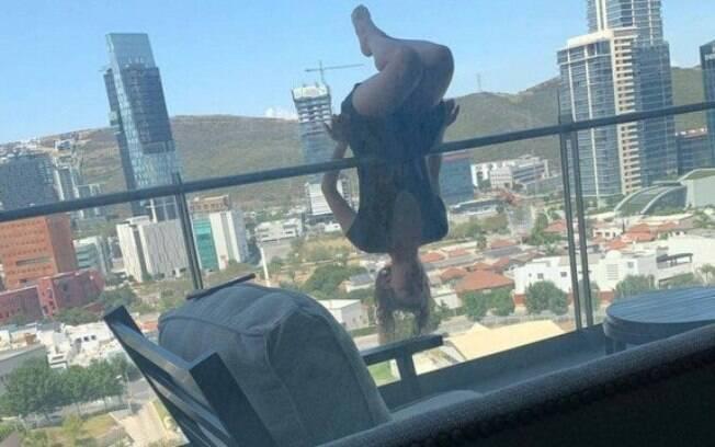Mulher se pendurou em varanda e caiu de uma altura de 24 metros