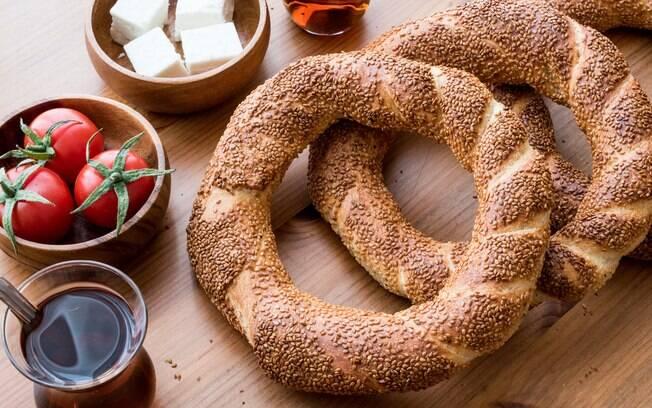 Tradicional café da manhã turco